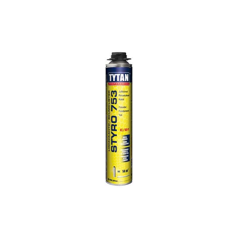 TYTAN PROFESSIONAL  Styro 753 pistolskumlim 750 ml