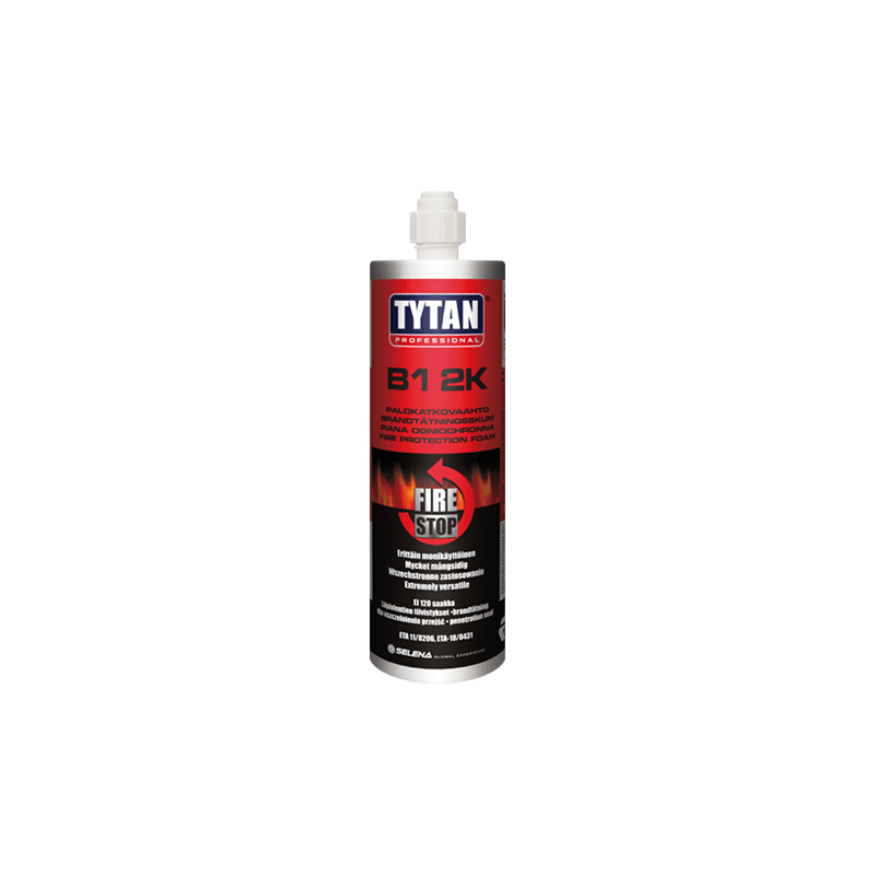 TYTAN PROFESSIONAL B1 2K Passive Fire Protection Foam 380 ML