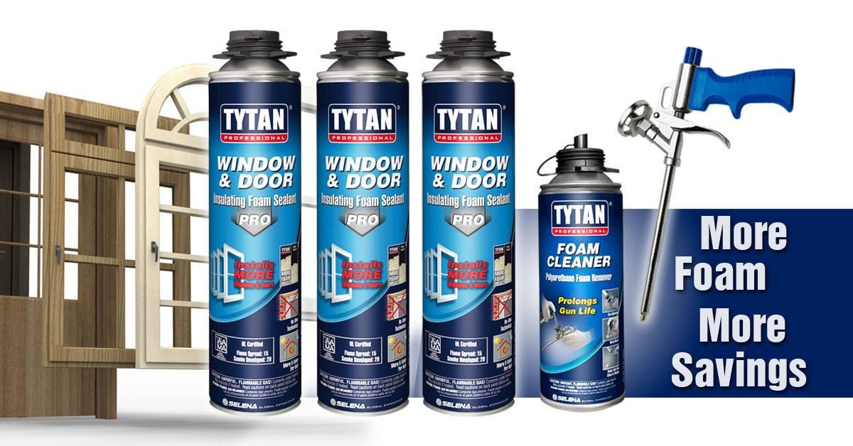 Tytan PU skum fönster